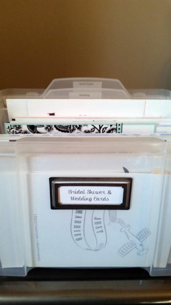 Organize Greeting Cards