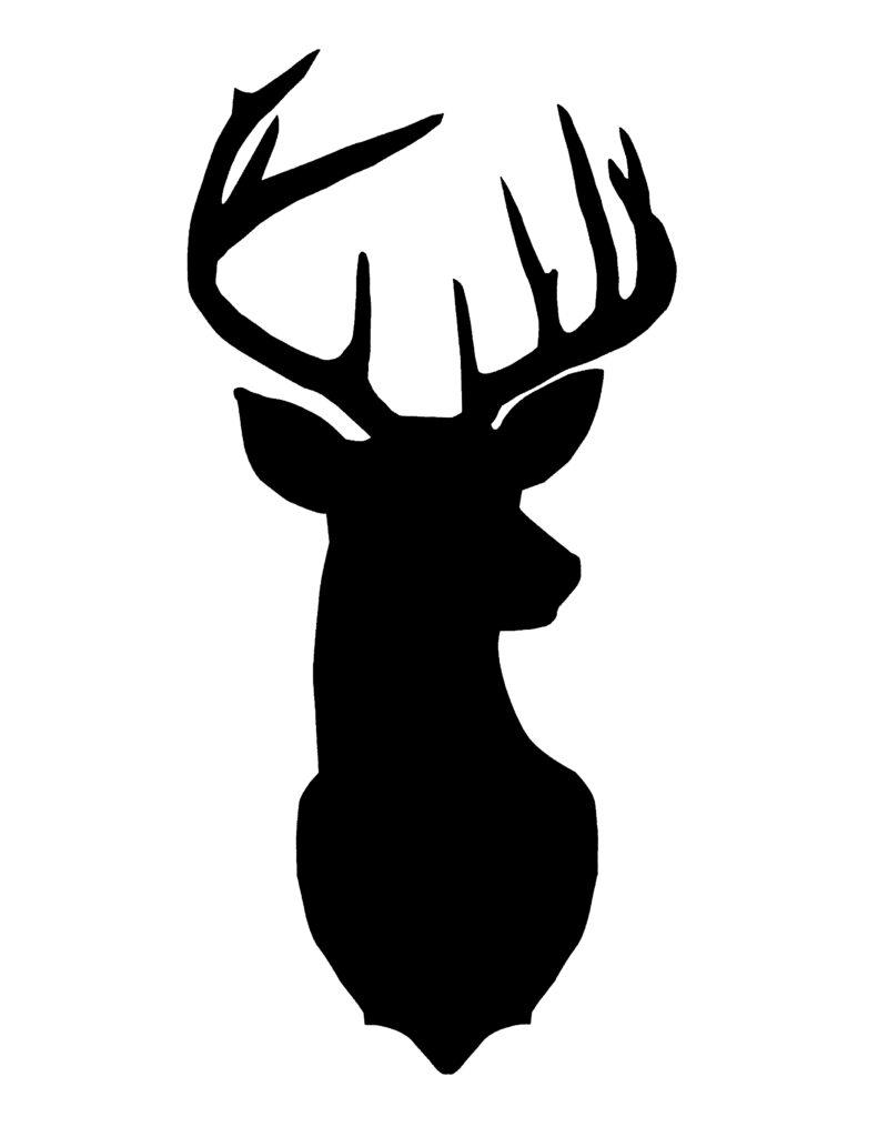 deer-head-silhouette