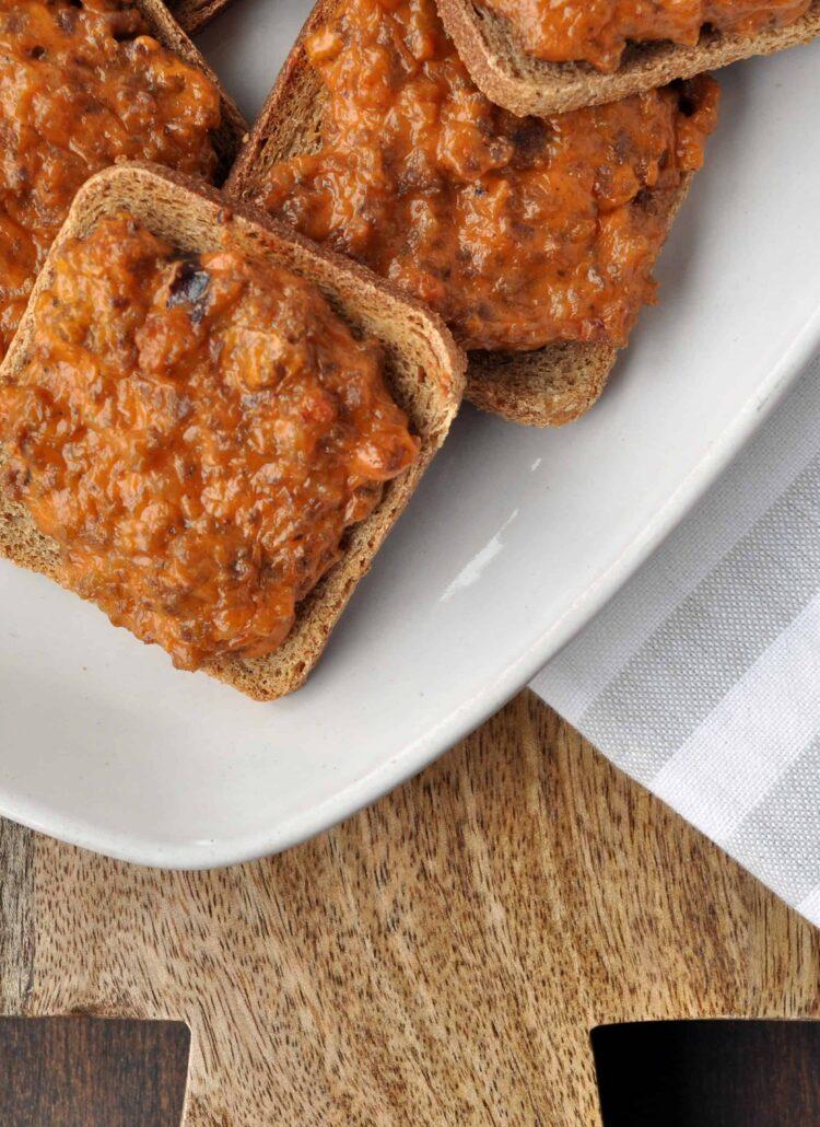 Mini Sourdough Bread Pizza