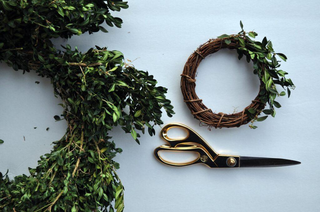 Recycled Boxwood Wreath