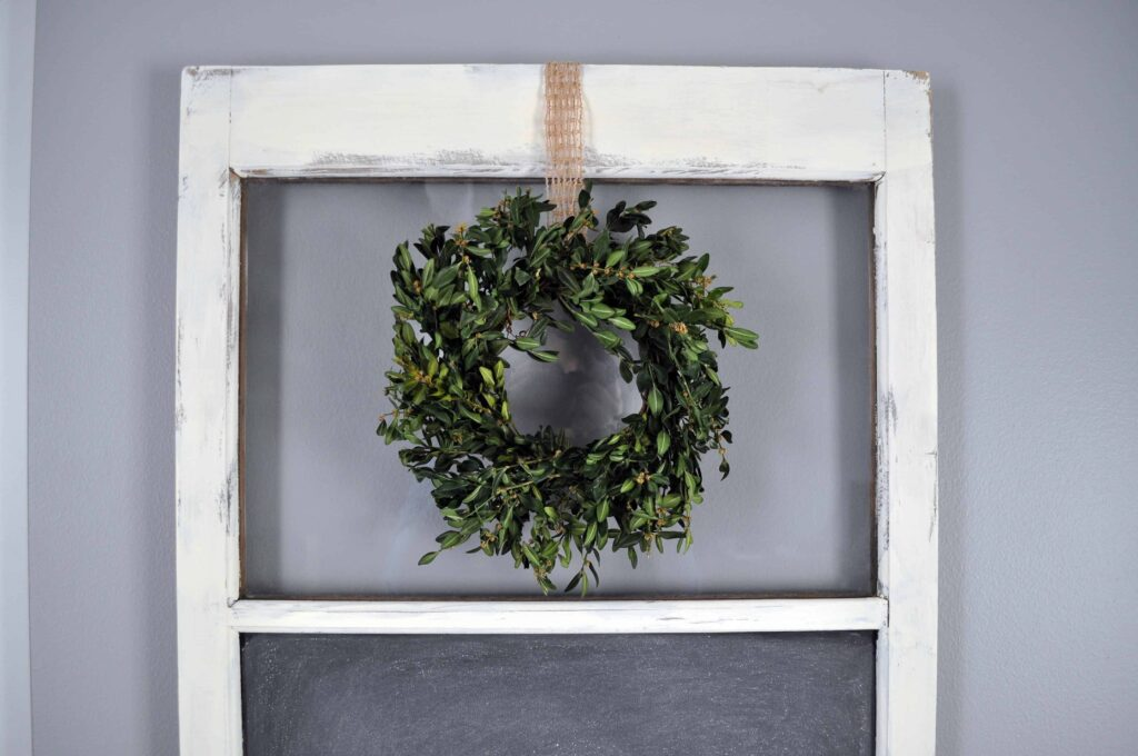 Recycled Boxwood Wreath