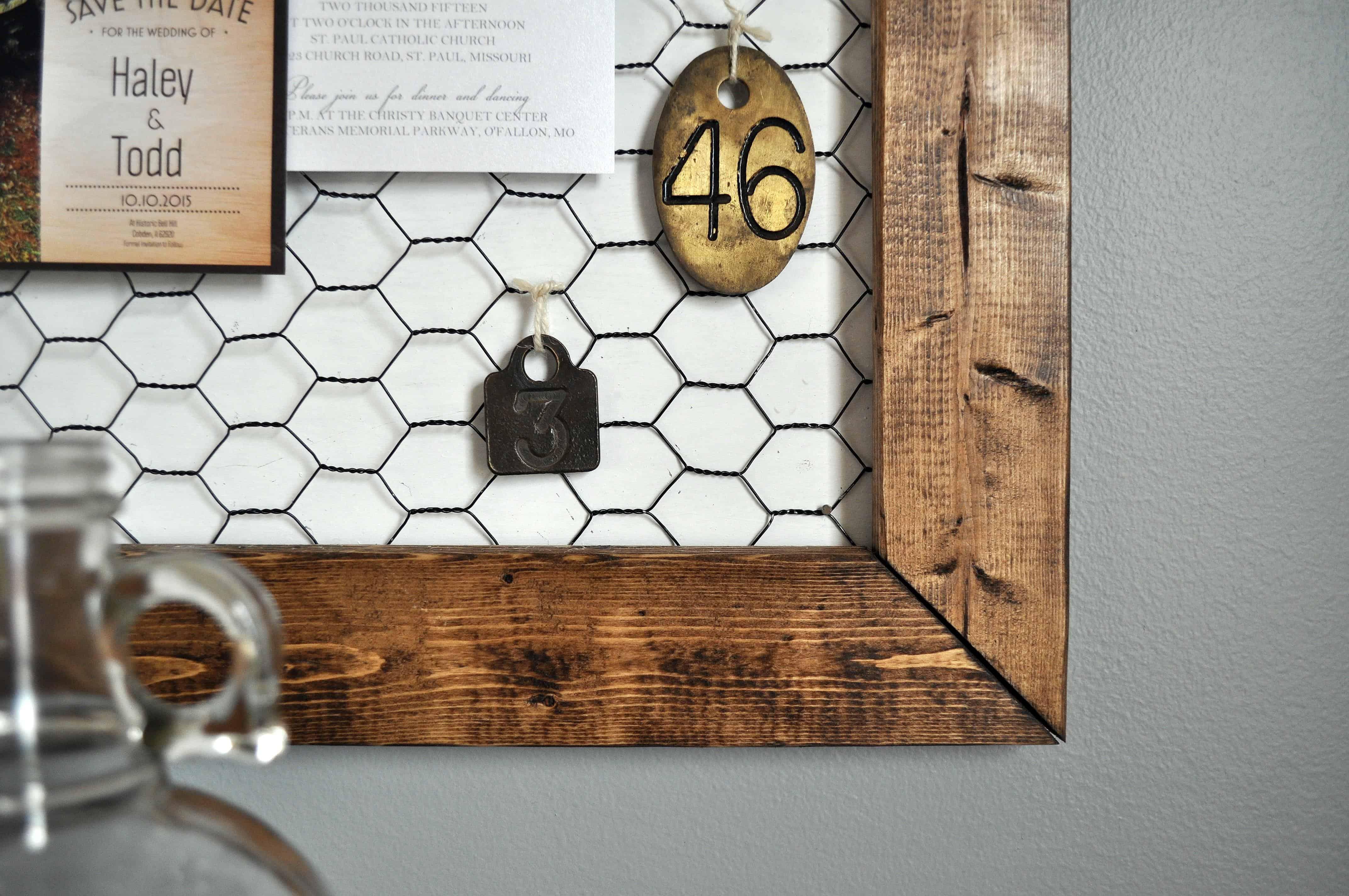 Office Memo Board Little Glass Jar