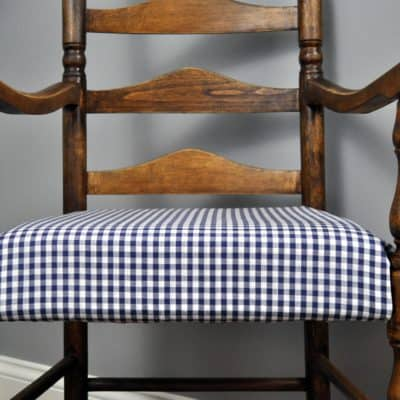 Ladder Back Chair Makeover