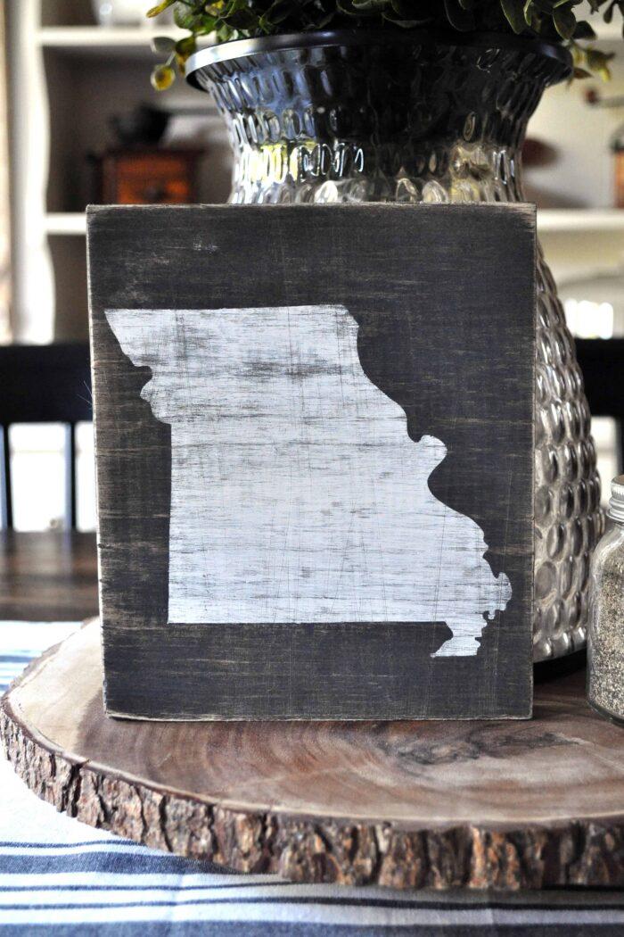 Scrap Wood State Art