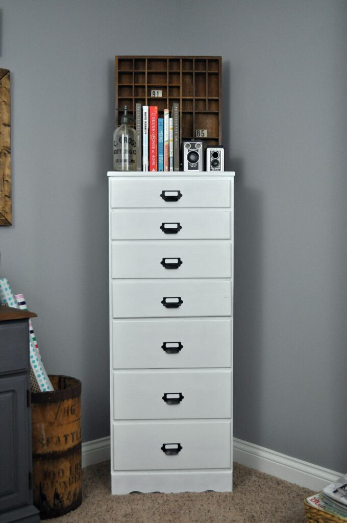 Office Dresser Makeover