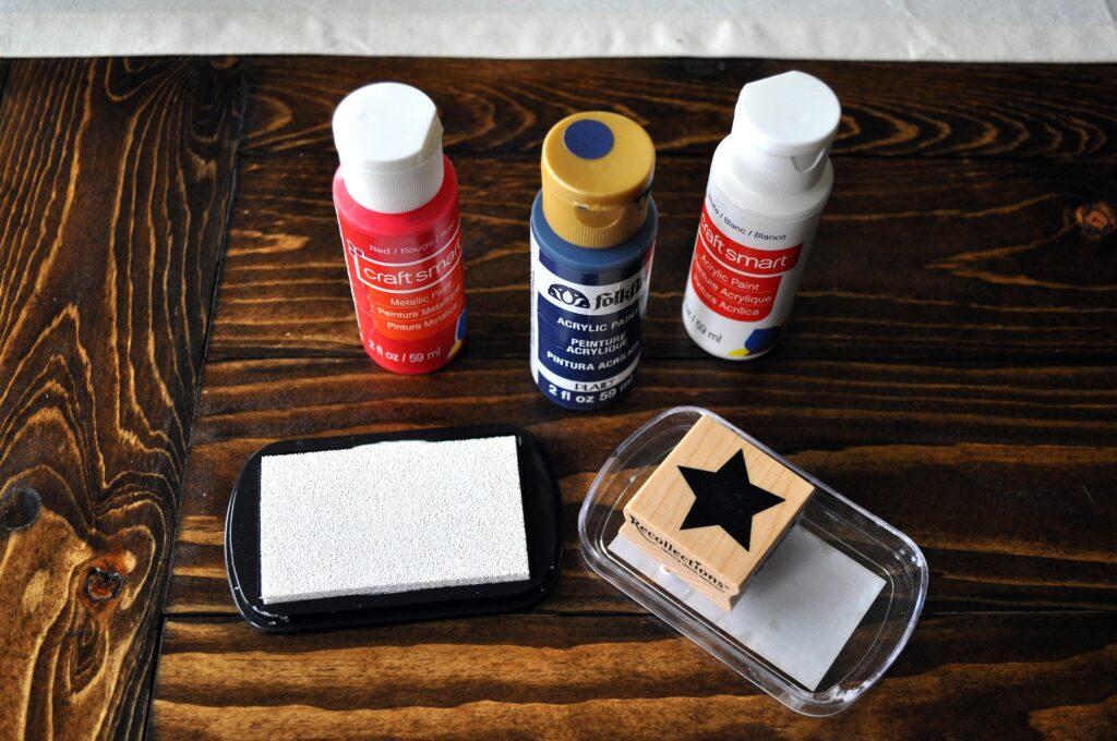 DIY Wooden American Flag
