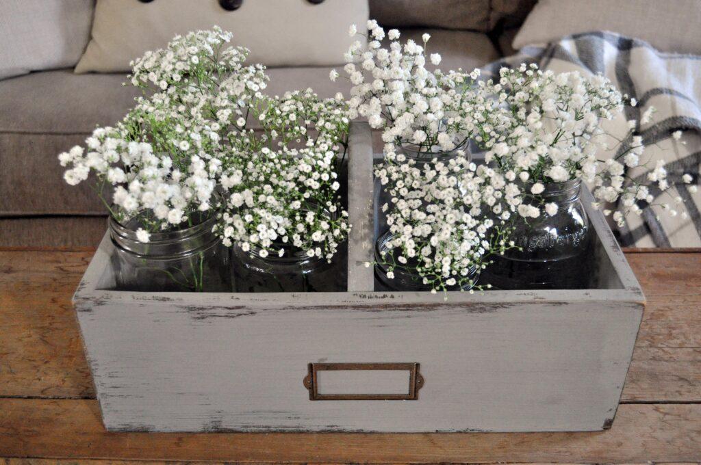 DIY Flower Caddy
