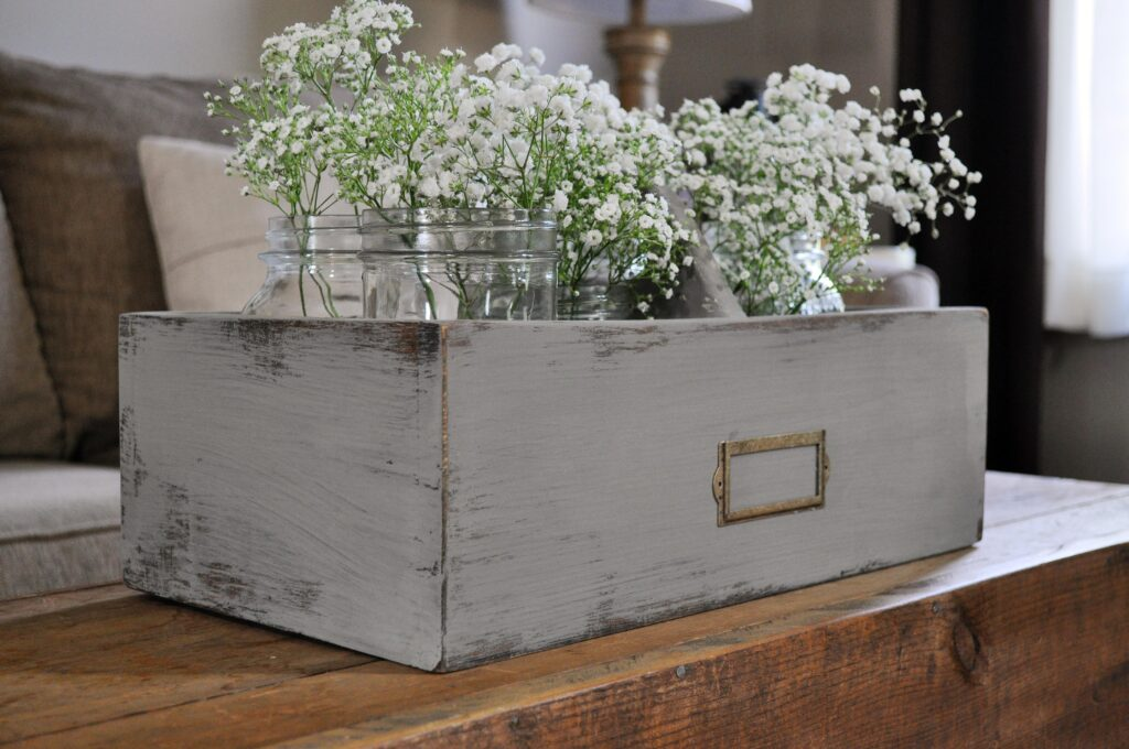 DIY Flower Caddy