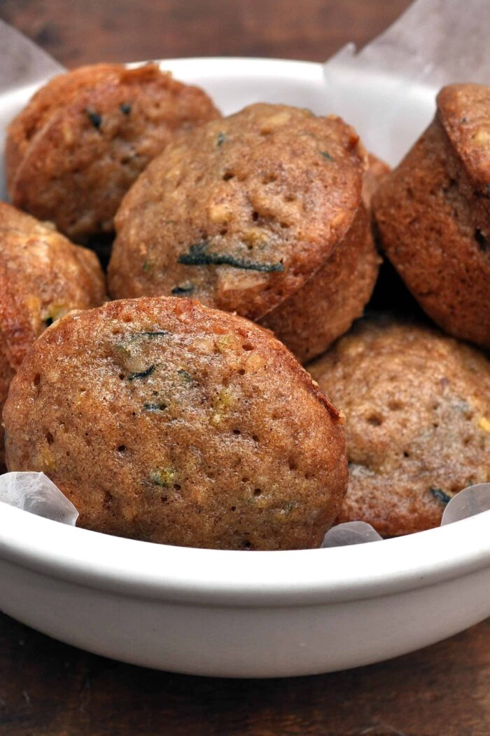 Zucchini Bread Mini Muffins