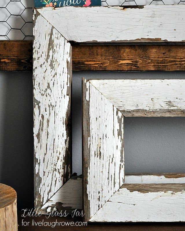 Farmhouse Frames. Easy wood frames