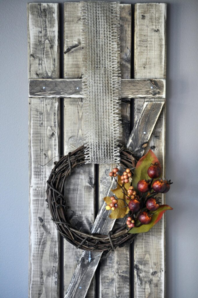 DIY Fall Mini Wreath. 6