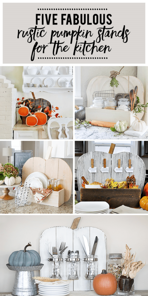 DIY Pumpkin Stand. Pin