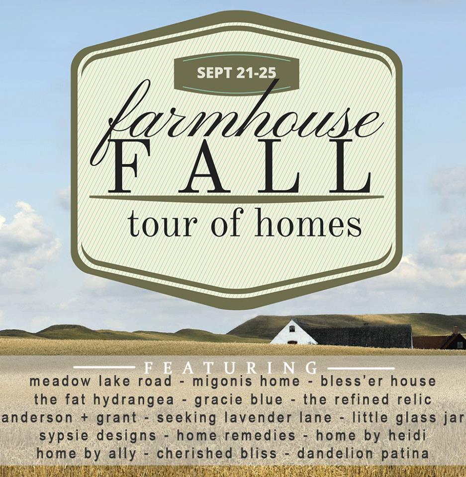 Farmhouse Fall Tour of Homes. Bloggers