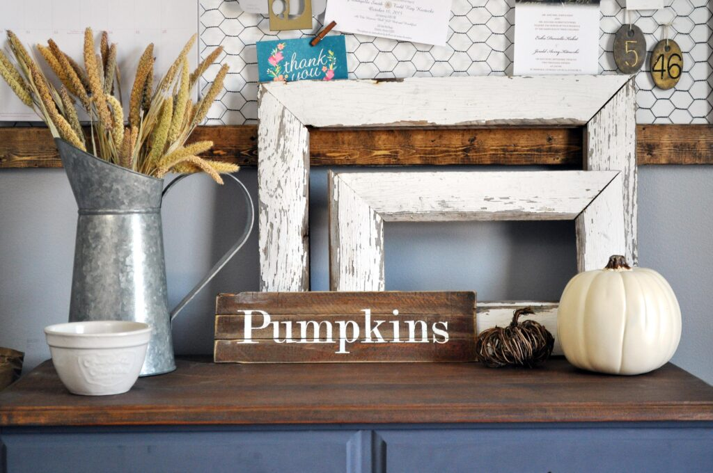 Farmhouse Fall Tour of Homes. Office Cabinet.