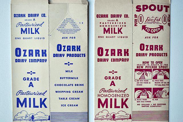 Milk Carton Art. Easy DIY Art