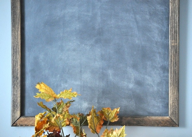 DIY Office Chalkboard. Cute Chalkboard Tutorial