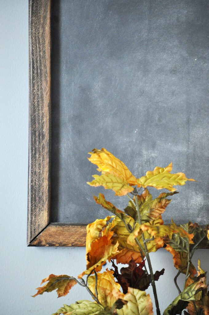 DIY Office Chalkboard. Simple DIY Chalkboard Tutorial