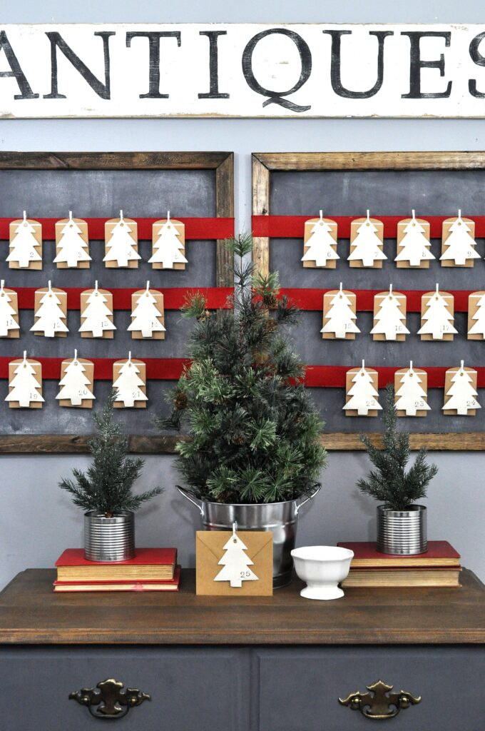 Advent Calendar 2015. Cute DIY Advent Calendar