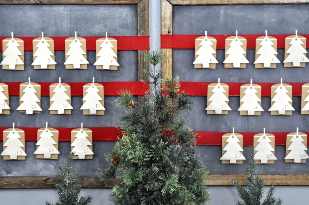 Advent Calendar 2015. DIY Advent Calendar