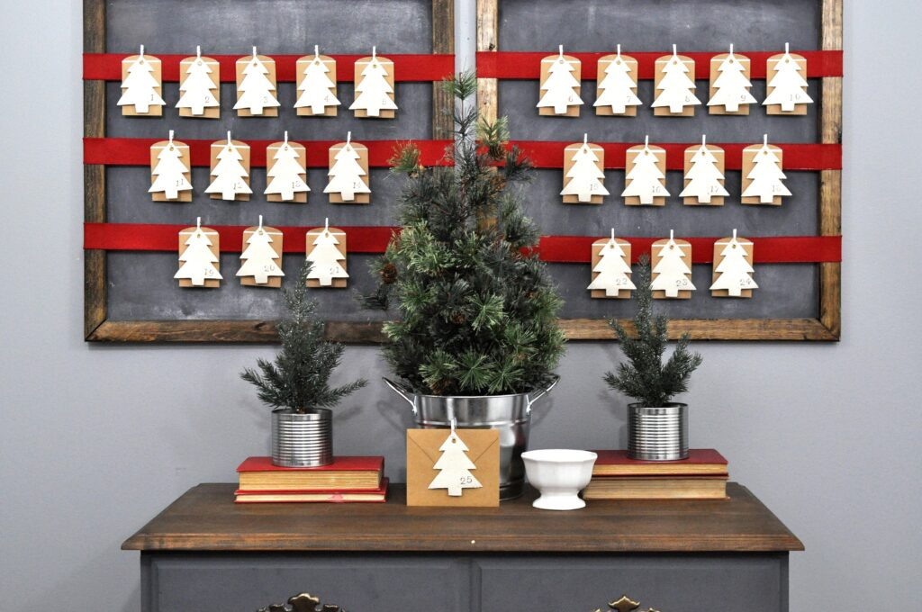 Advent Calendar 2015. Simple DIY Advent Calendar