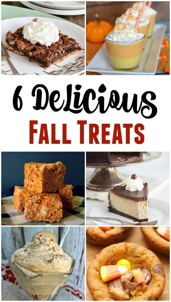 BWT Delicious Fall Treats Collage