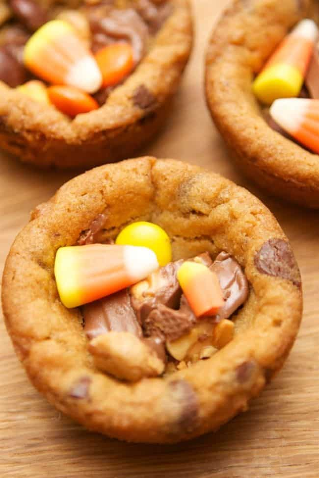 BWT Leftover Candy Cookie Cups