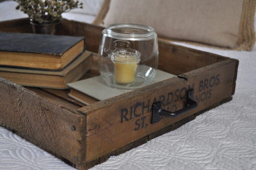 Crate Serving Tray. Serving Tray