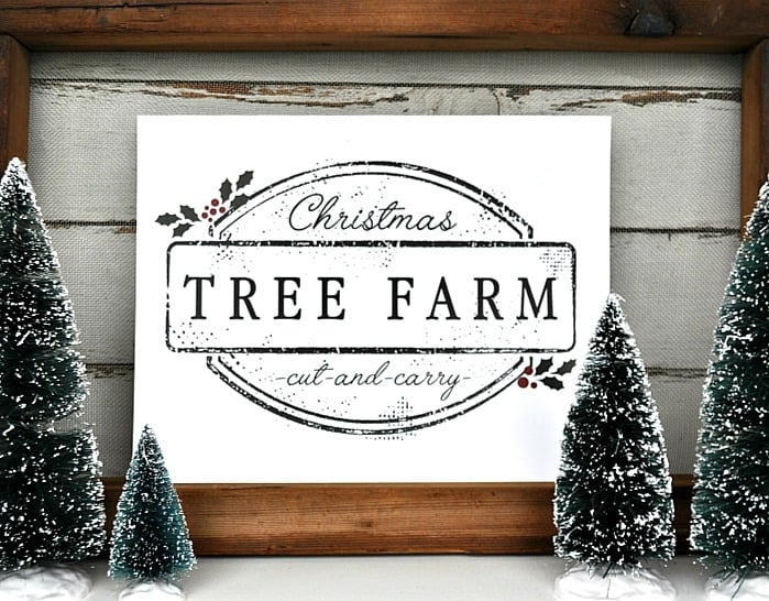Christmas Tree Printable. 1