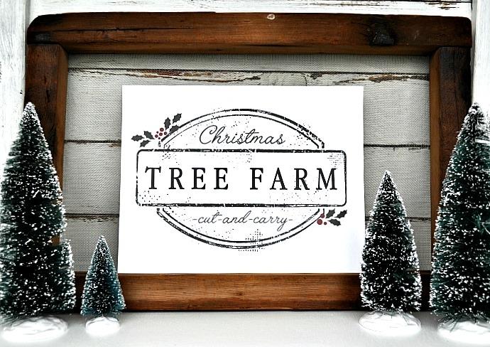 Christmas Tree Printable. Full