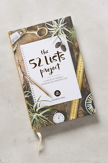 Anthropologie. 52 List Project