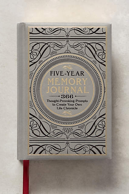 Anthropologie. Five Year Memory Journal