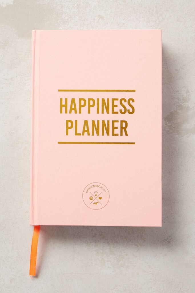 Anthropologie. Happiness Planner