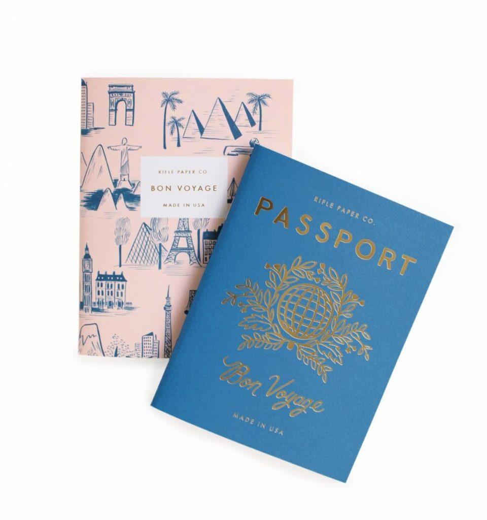 Rifle Paper Co. Passport Notebooks