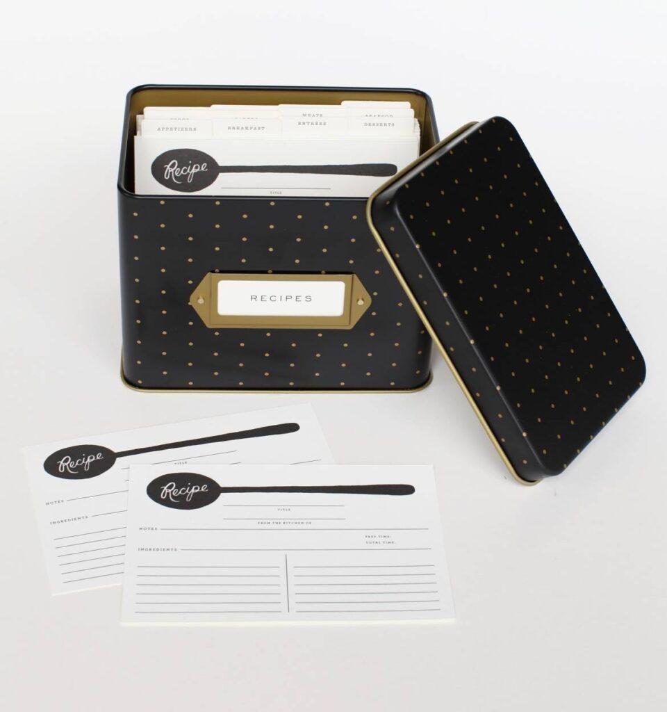 Rifle Paper Co. Recipe Box