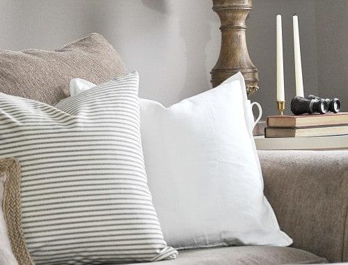New Pillows + New Chair