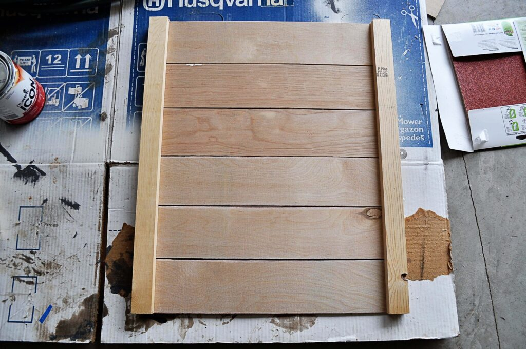 DIY Planked Clock.Assemble Plywood