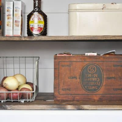 Farmhouse Pantry Makeover