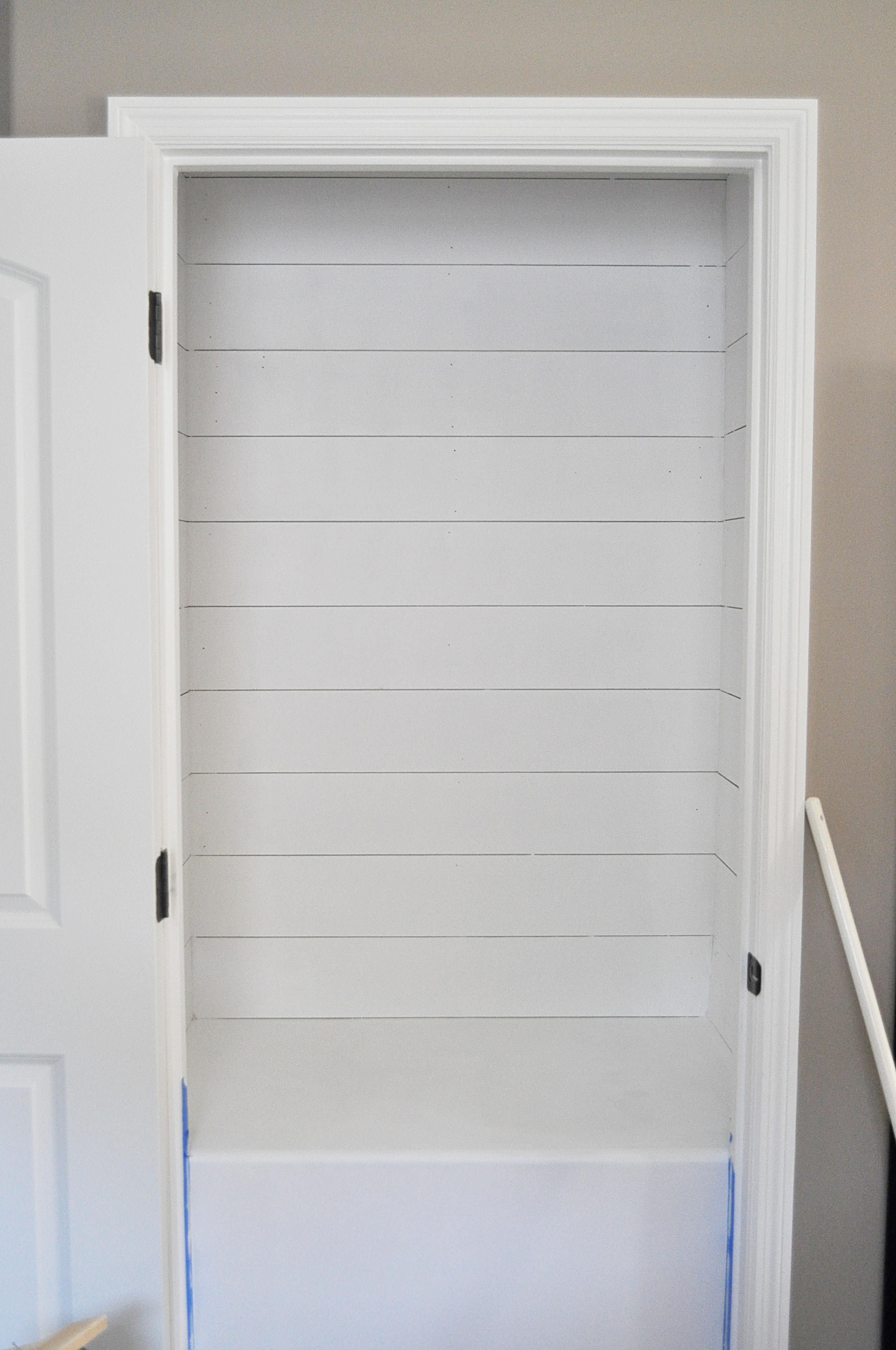 Shiplap Door Amp Diy French Closet Doors