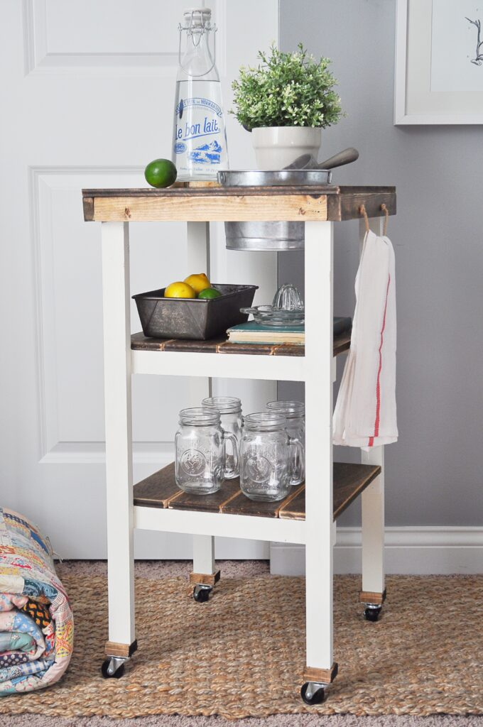 Guest Bedroom Beverage Station. Awesome DIY Beverage Station