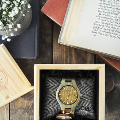 Wood Watches by JORD Giveaway