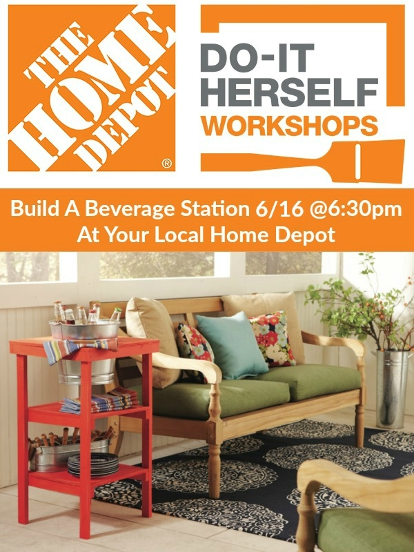 Sign up today for the April 2016 DIH Workshop at your local Home Depot. www.livelaughrowe.com #DIHWorkshop