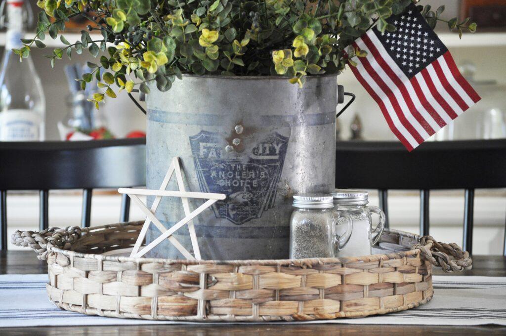 Vintage Fourth of July Decor