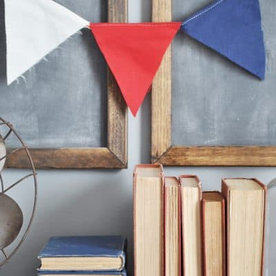 Vintage Fourth of July Decor