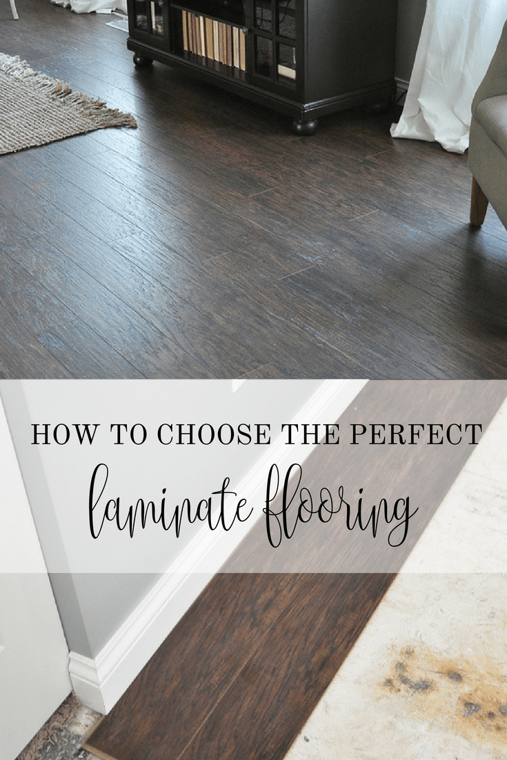 Tips for picking out laminate flooring little glass jar for Laminate flooring techniques