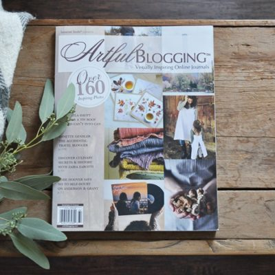 Artful Blogging Magazine Feature