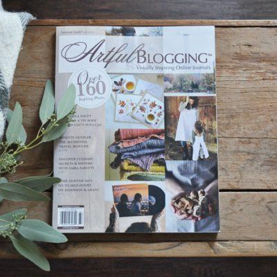 Artful Blogging Magazine Feature