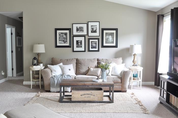paint makeover reveal behr giveaway little glass jar. Black Bedroom Furniture Sets. Home Design Ideas