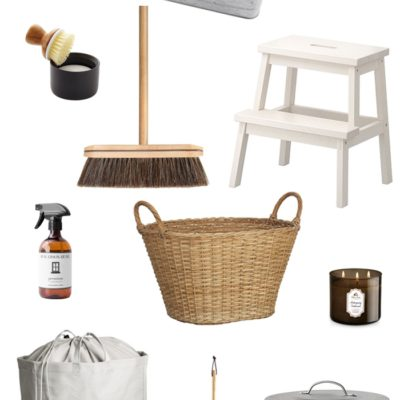 Farmhouse Style Cleaning Supplies