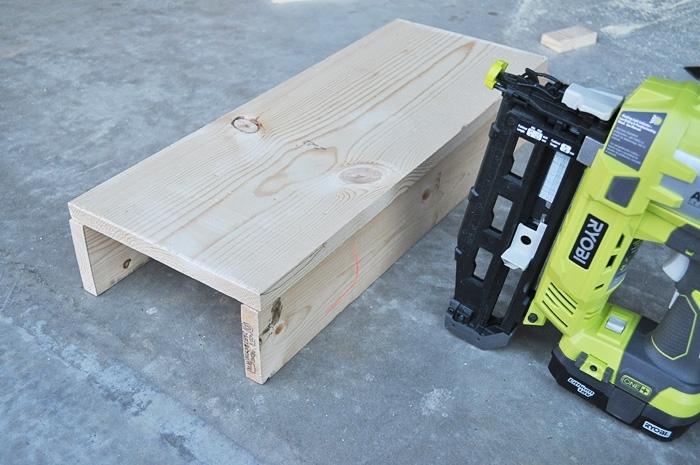 DIY Rustic Wooden Tote
