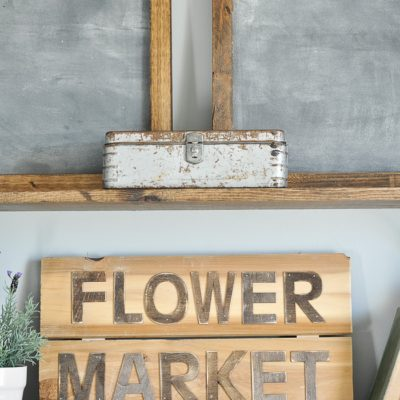 Flower Market Sign
